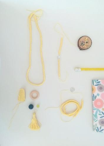 Como hacer un collar de ganchillo